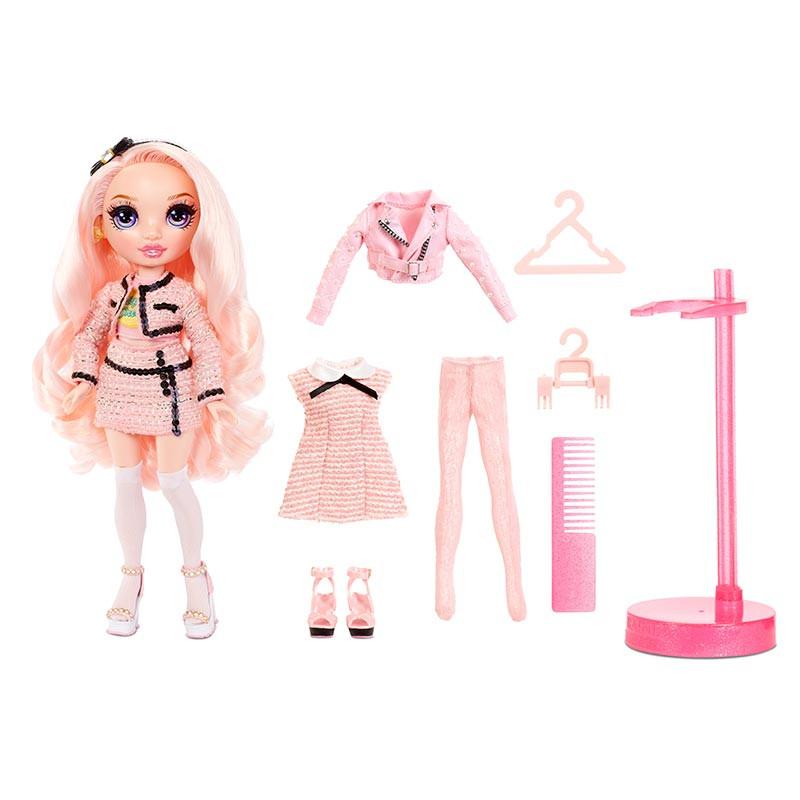 Rainbow High boneca serie 2 Bella Parker rosa