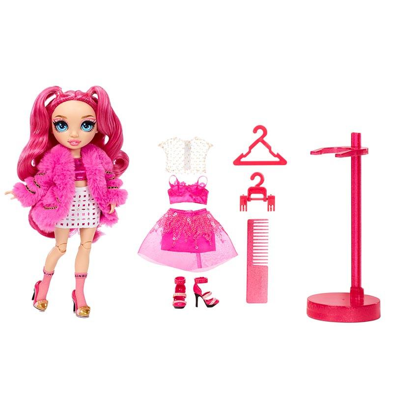 Rainbow High boneca serie 2 Stella Monroe Fúcsia