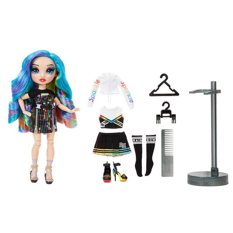 Rainbow High boneca serie 2 Amaya Raine azul