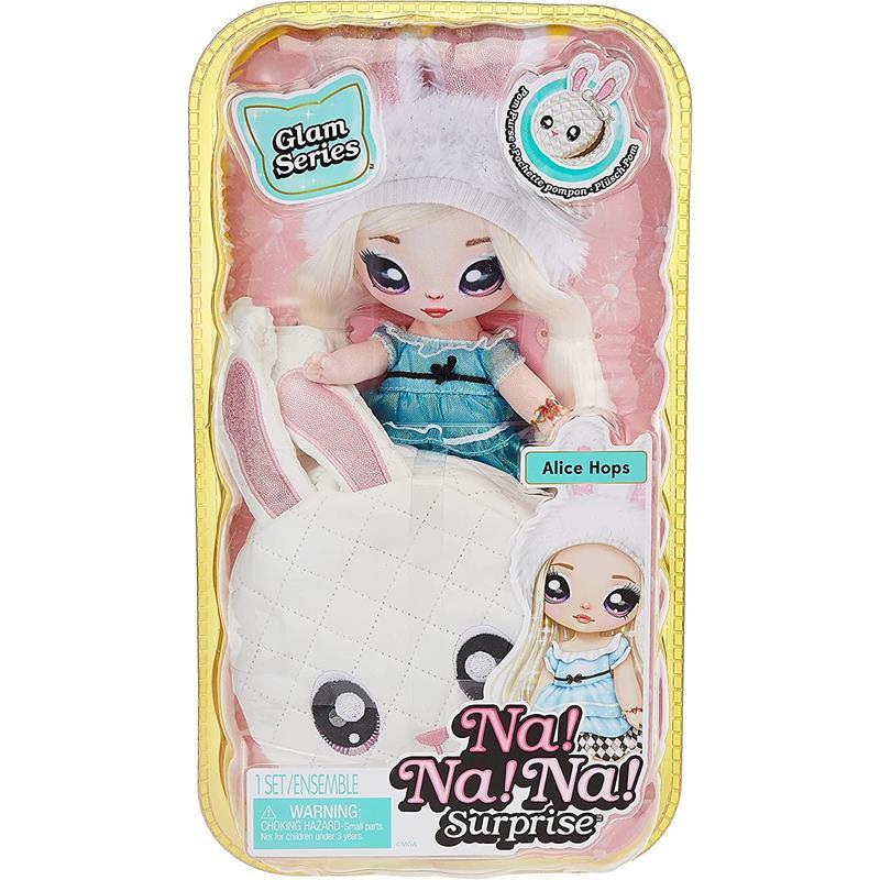 Na! Na! Na! Surprise Pom Doll Glam Alice Hops