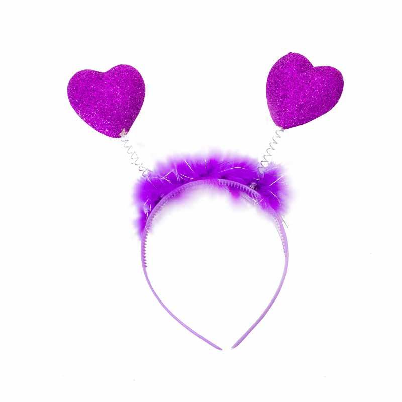 Bandolete antena de corações