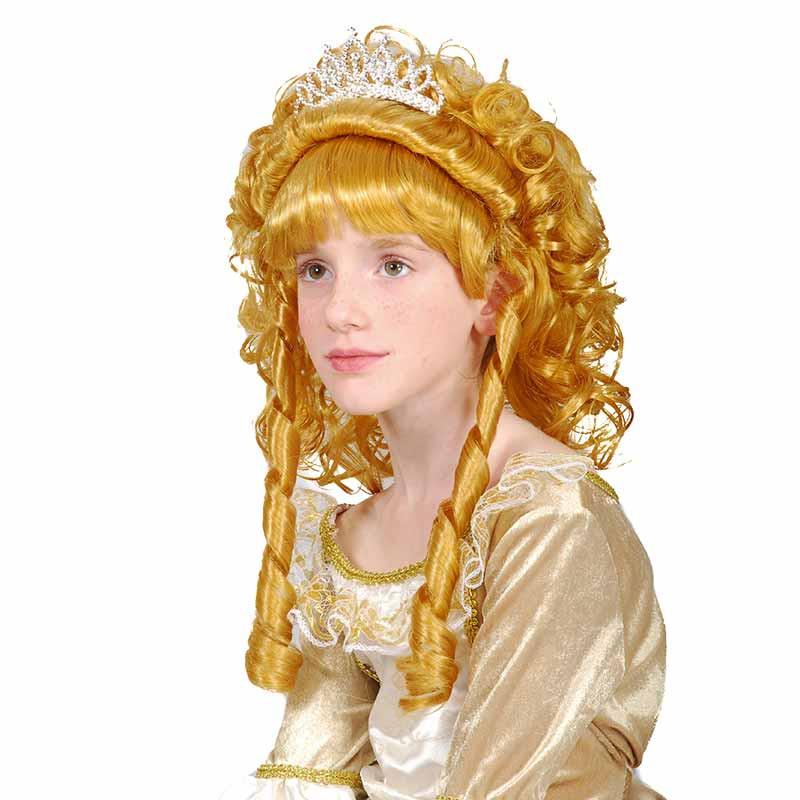 Peruca Princesa Loira inf Carnaval