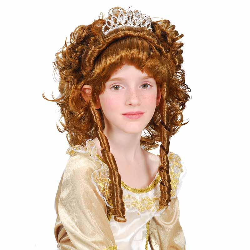 Peruca Princesa Morena inf Carnaval