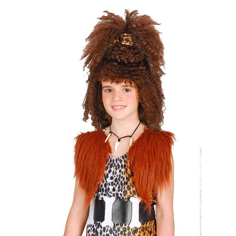 Peruca Menina das Cavernas inf Carnaval