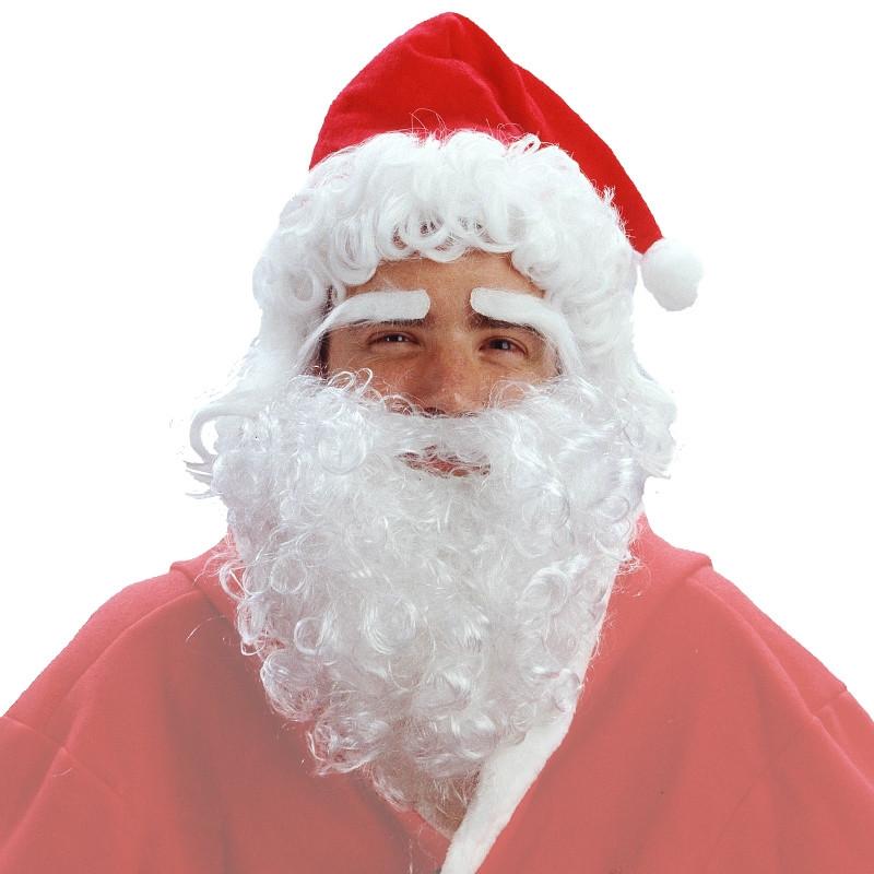 Disfarce Peruca Pai Natal