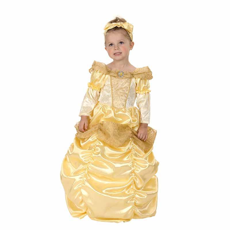 Disfarce Princesa Dourada Bebé