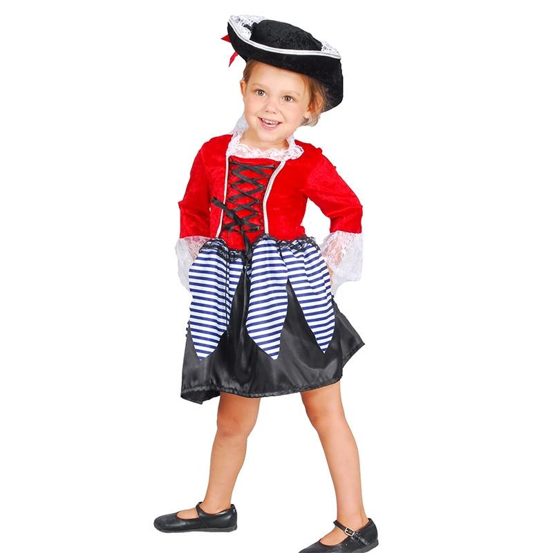 Disfarce menina piratinha bebé
