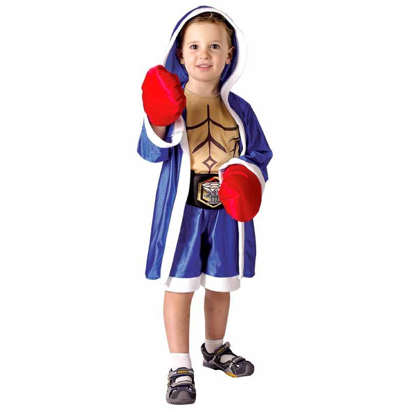 Disfarce Pequeno Boxeador Bebe