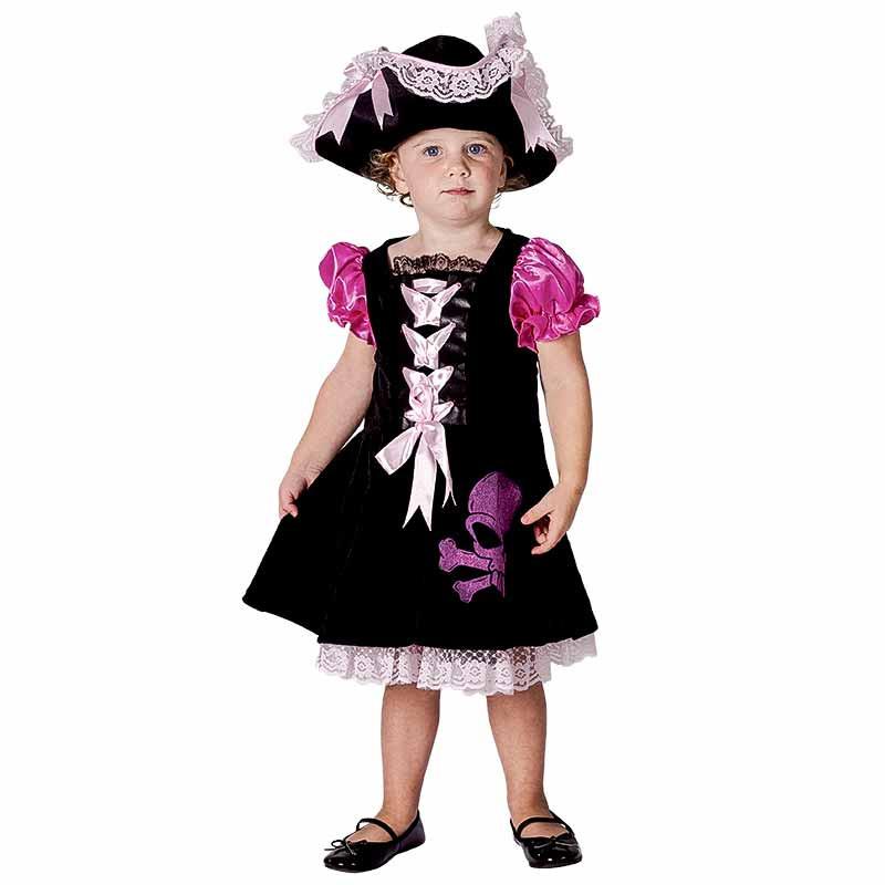 Disfarce Pirata Bebe Luxe Menina