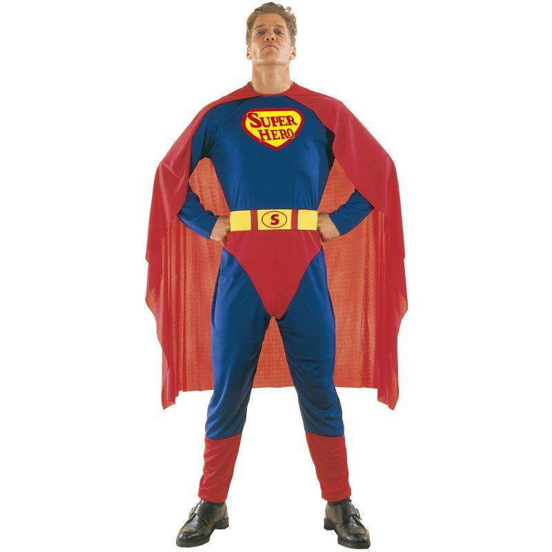 Disfarce Homem Super Heroi Adulto T/U