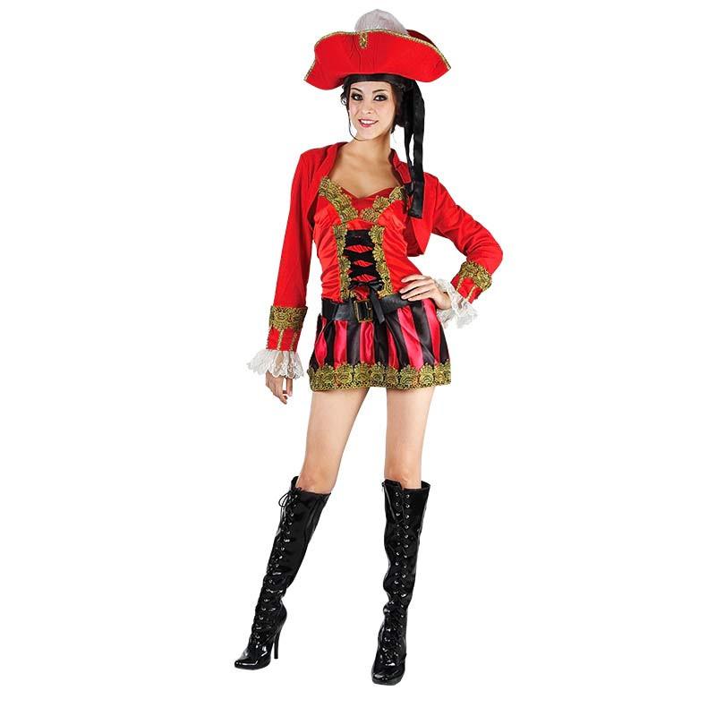 Disfarce Doce Pirata Adulto T/U