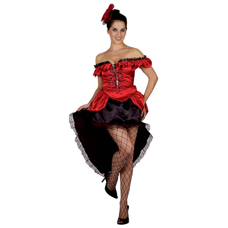 Disfarce Bailarina Can Can Adulto T/U