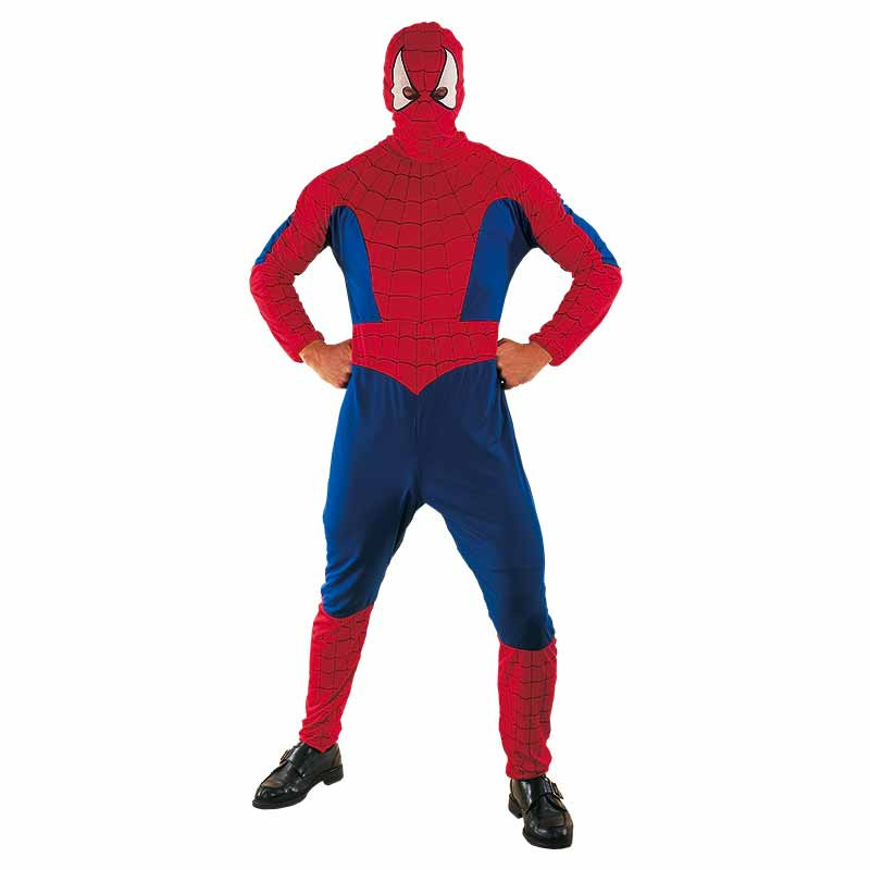 Disfarce Heroi Aranha Adulto T/U