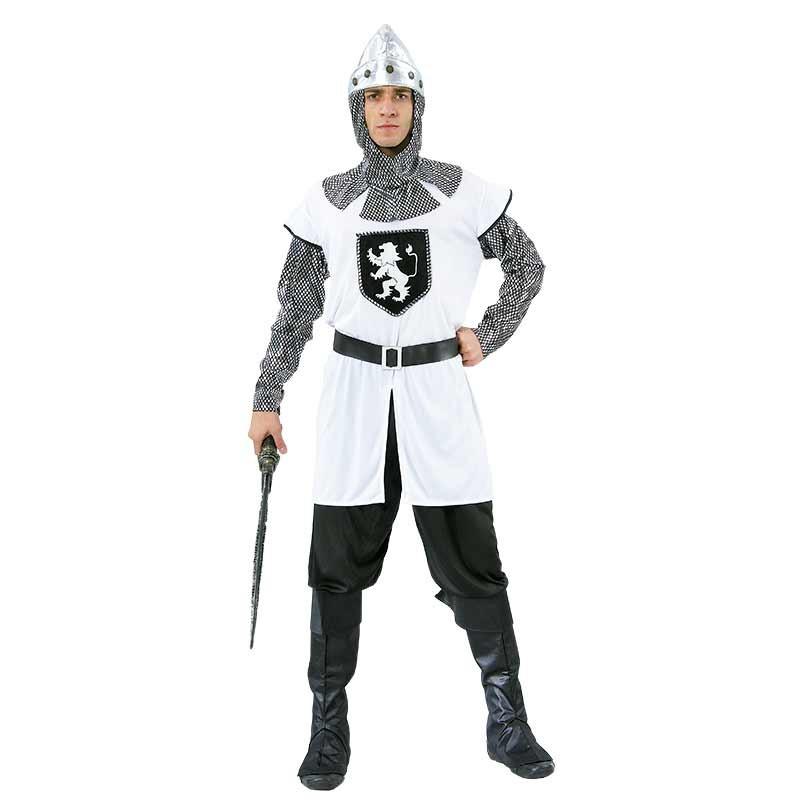 Disfarce Cavaleiro Branco T/U