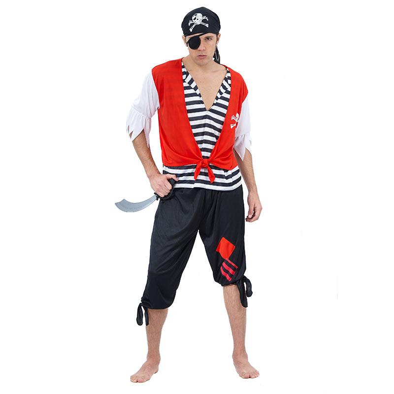 Disfarce Pirata Adulto T/u