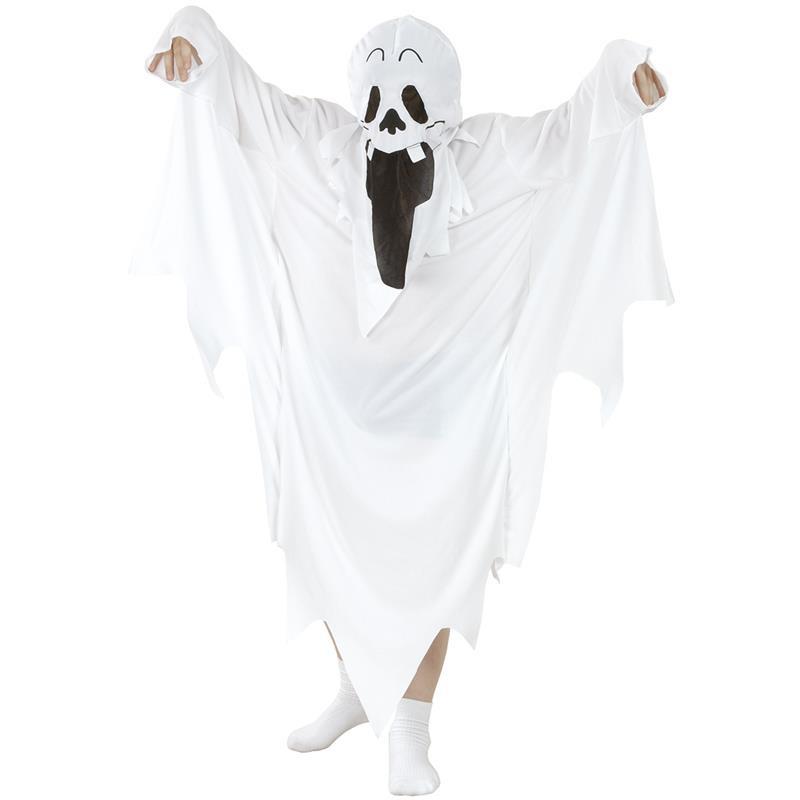 Disfarce fantasma branco Infantil