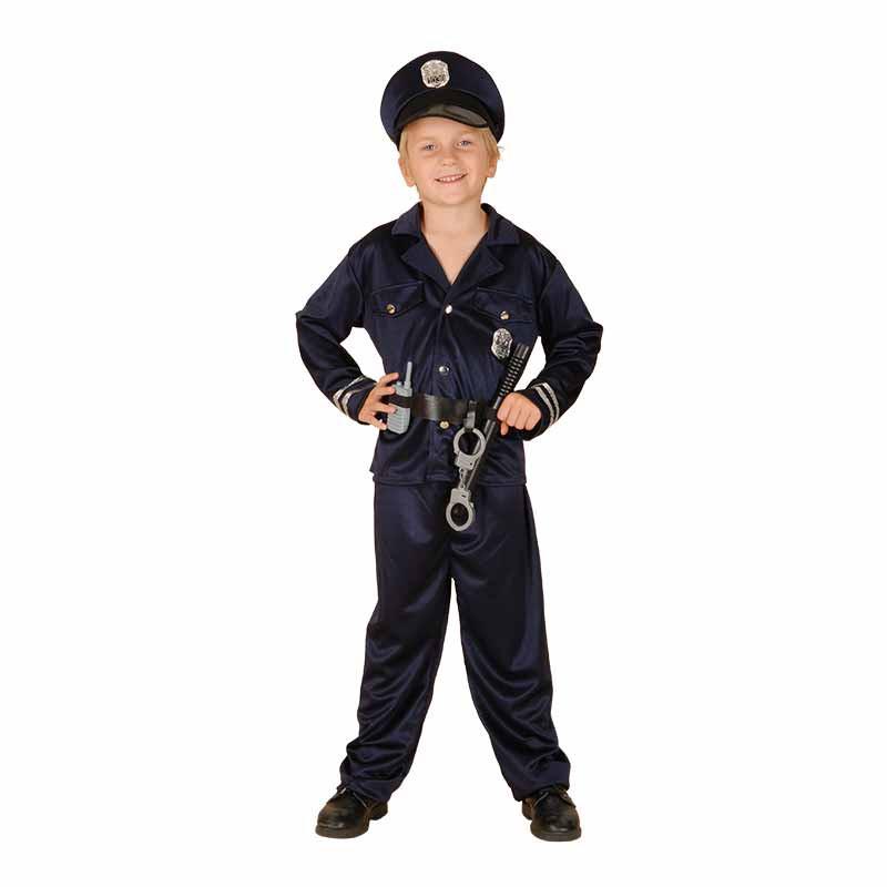 Disfarce  Polícia com acessórios infantil