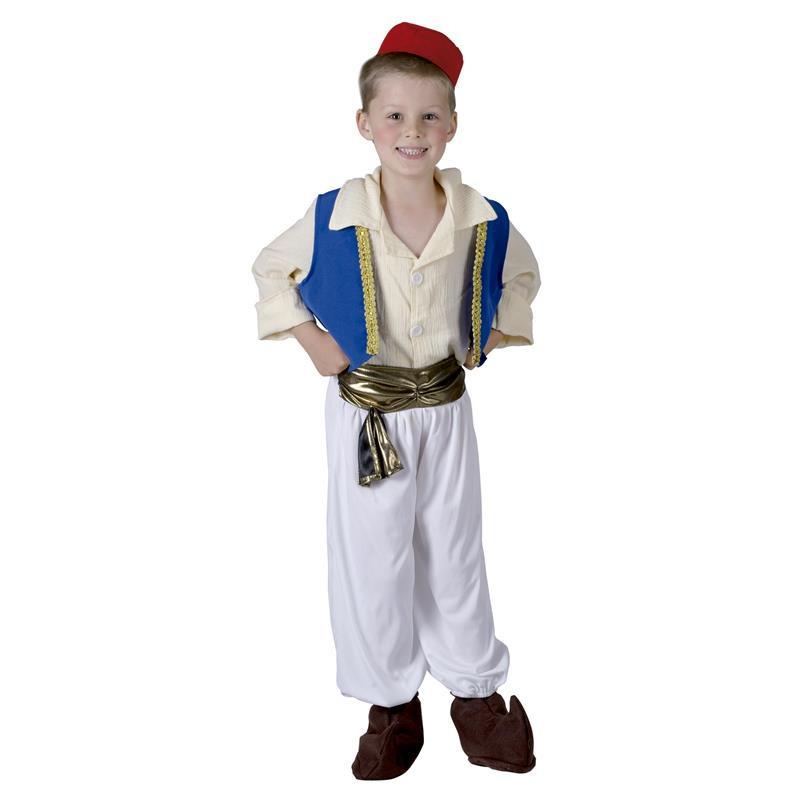Disfarce árabe infantil