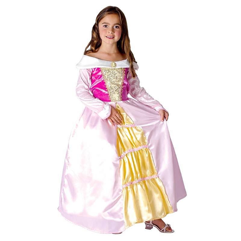 Disfarce Princesa Rosa Inf