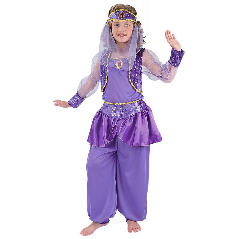Disfarce Bailarina Arabe Inf