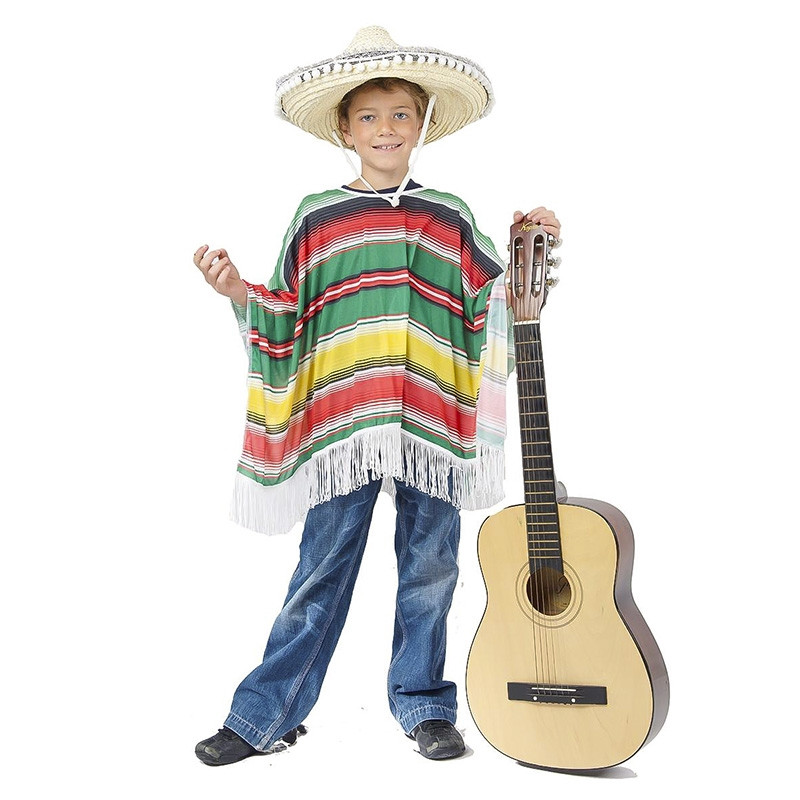 Disfarce mexicano infantil