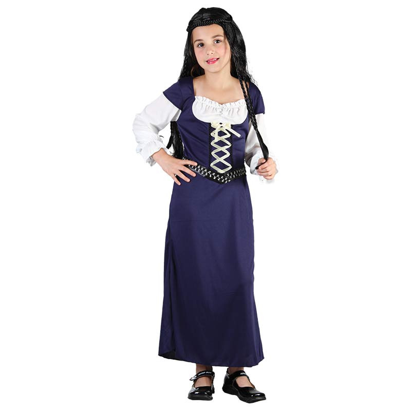Disfarce Menina Medieval Inf