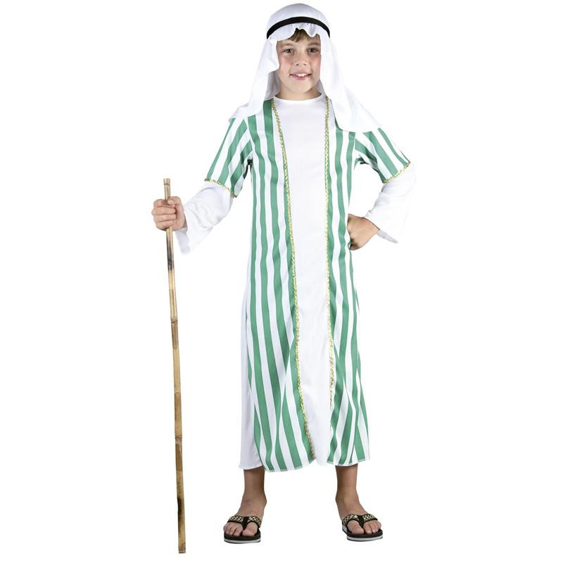 Disfarce infantil pastor