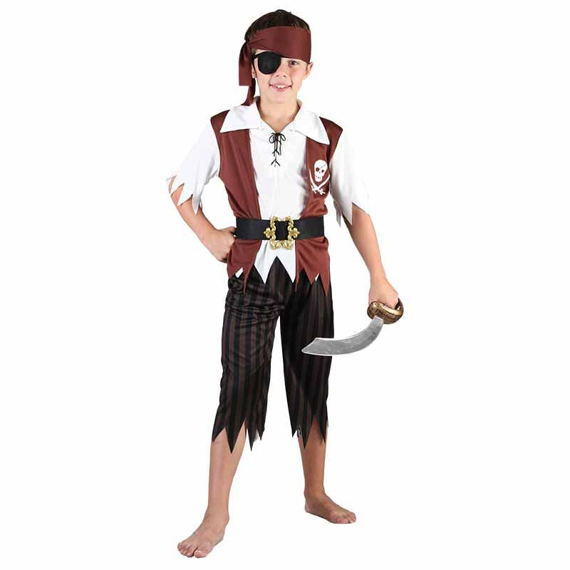 Disfarce Pirata Menino Inf
