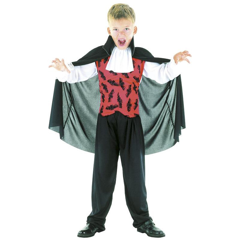 Disfarce vampiro infantil