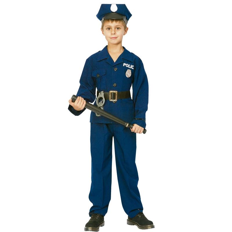 Disfarce infantil Policia