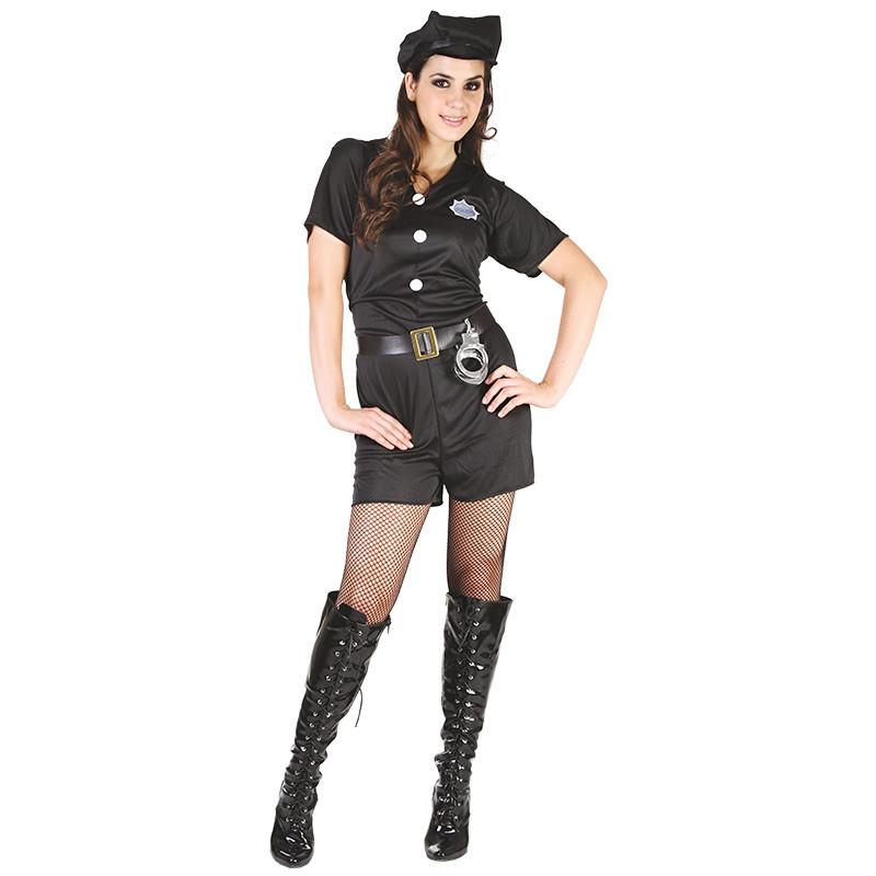 Disfarce Mulher Policia Adulto T/U