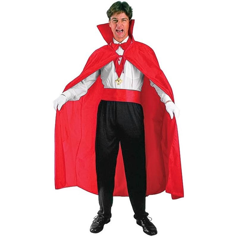 Capa Vermelha Adulto Halloween