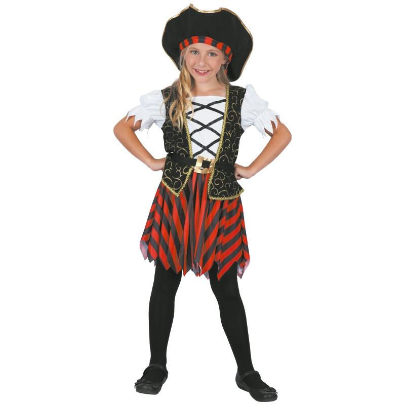Disfarce Pirata Menina