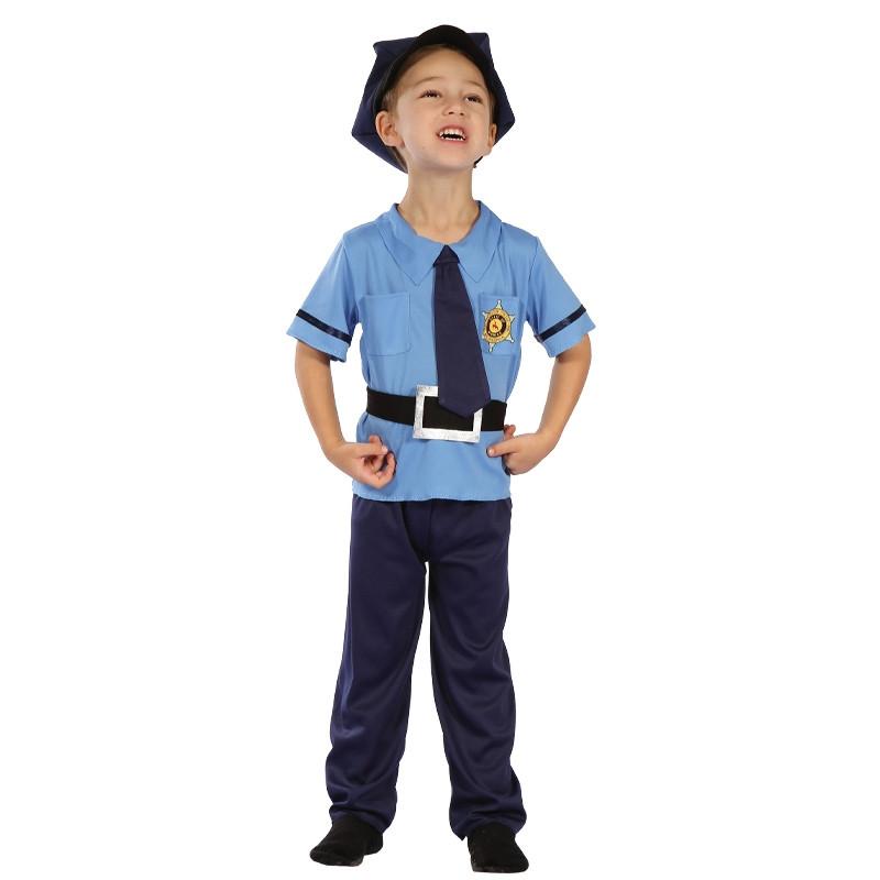 Disfarce Policia Bebé