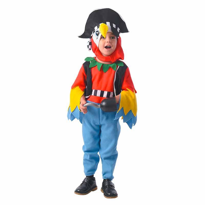 Disfarce Pirata papagaio Bebé