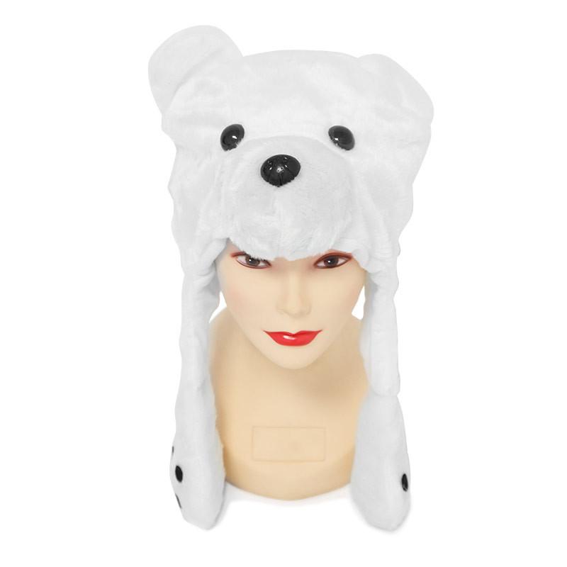 gorro cabeça de urso
