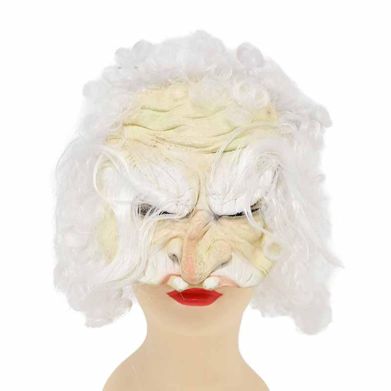 Meia Mascara com cabelo