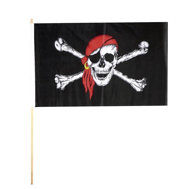 Carnaval bandeira pirata