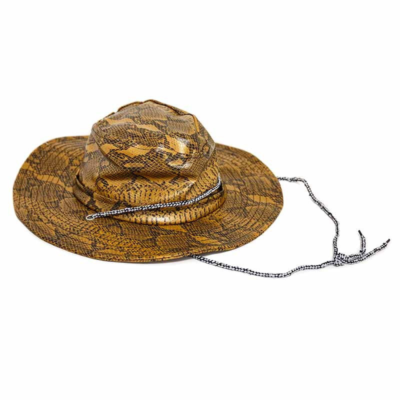 Gorro Cowboy ou explorador Crocodilo