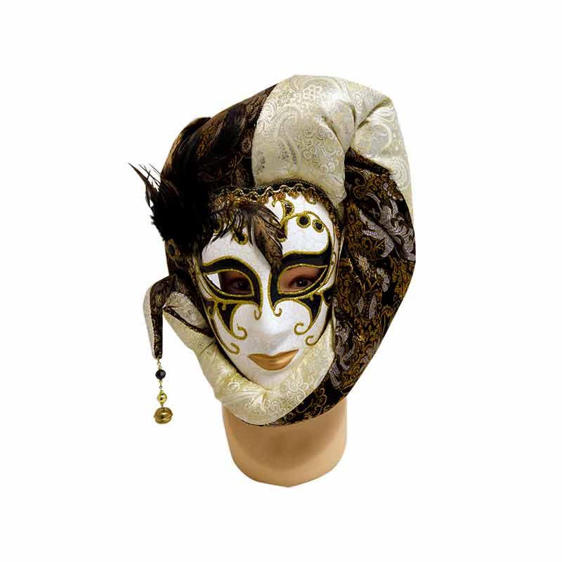 Mascara preta e branca Carnaval
