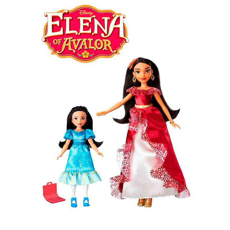 Elena de Avalor e princesa Isabel