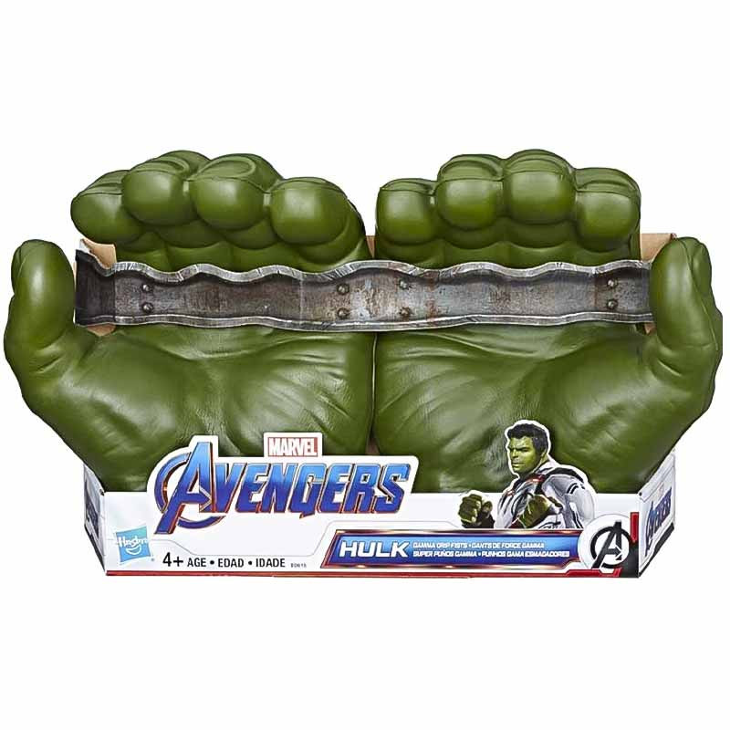 Super punhos gamma do Hulk