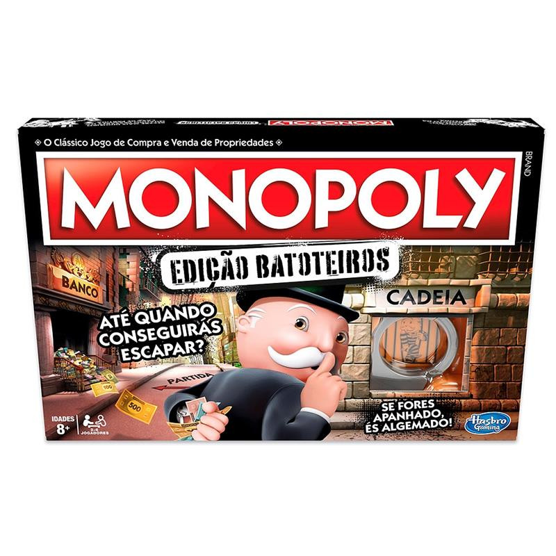 Jogo Monopoly Batoteiro