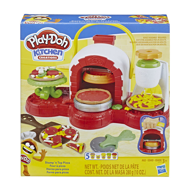 Play Doh horno de pizzas