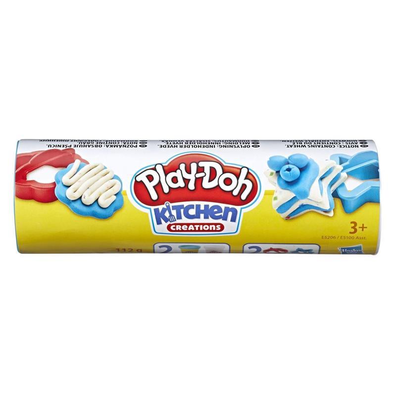 Play Doh tubo de cookies bolacha de açúcar