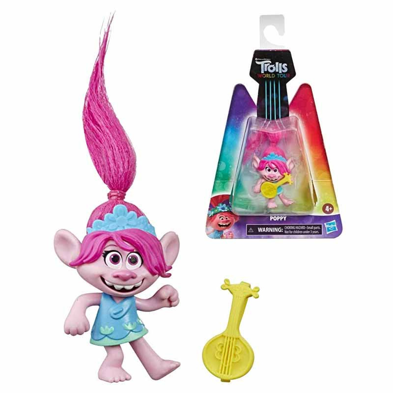 Trolls figura Poppy World Tour
