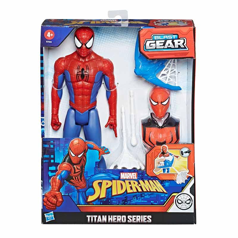 Spiderman figura titán acessorios