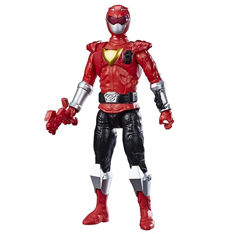 Power Ranger Beast Morphers figura Ranger vermelho