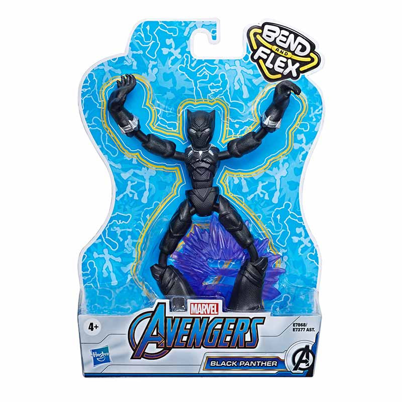 Avengers bend and flex figura Black Panther 15 cm
