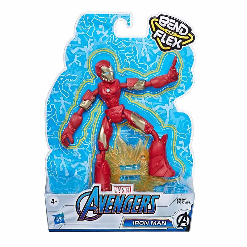 Avengers bend and flex figura Iron Man 15 cm